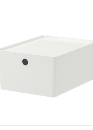 Коробка для хранения с крышкой, 26x35x15 см