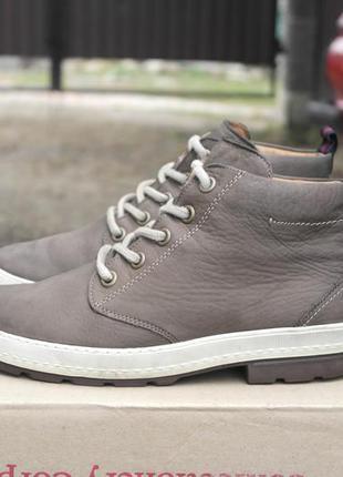 Paul green р.40(26см) кожаные ботинки утепленные.