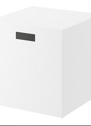 Коробка для хранения с крышкой, 30x30x30 см