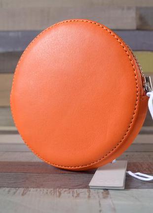 Кошелек cos round leather purse