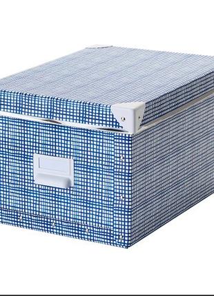 Коробка для хранения с крышкой, 25x36x20 см