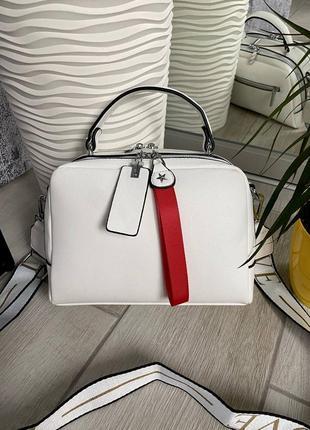 👑 сумка love с широким ремешком (2 отдела)