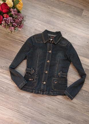 Джинсовая куртка жакет джинсовка