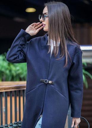 Пальто из пальтовой ткани без подклады рр s