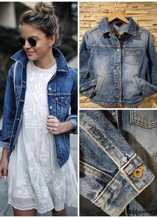 ✅качественная джинсовая куртка, джинсовка, джинсовый жакет от motor jeans
