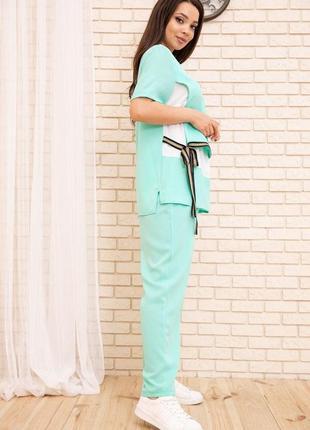 Очень красивый стильный костюм в двух цветах xl