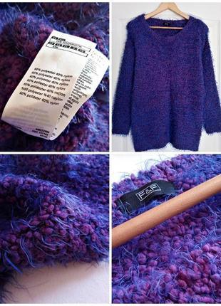 ✅свободный крой свитер, джемпер, кофта, травка, букле
