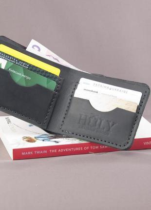 Кожаный кошелек портмоне ручная работа