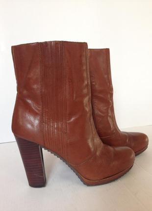 Кожаные ботинки nine west 37р 24см