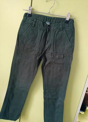 Брюки чіноси джинс, chicco, 1+1