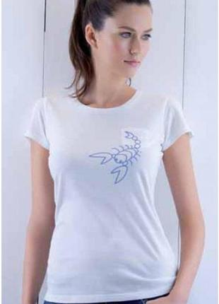 Белая футболка atlantic