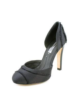 Сатиновые туфли bcbg max azria кожа внутри