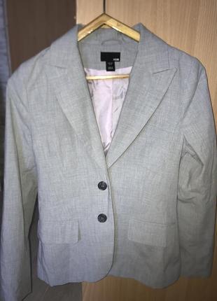 Пиджак жакет h&m