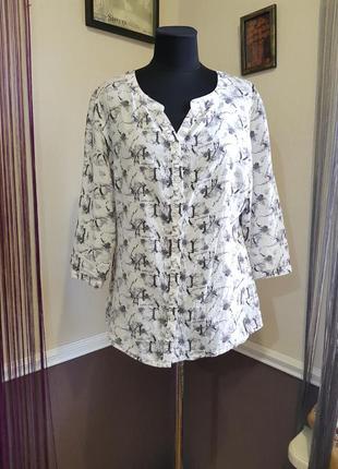 Стильная рубашка блуза cecil