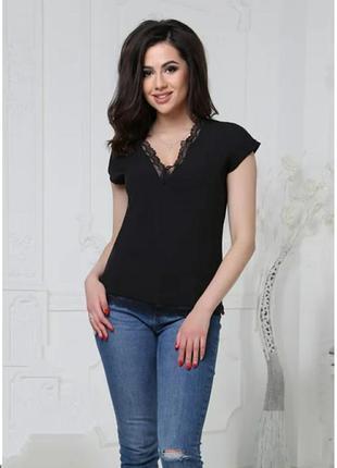 Нежная блуза с кружевом.3 фото