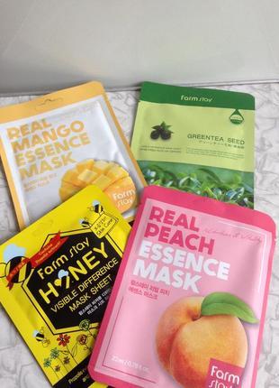 Набор увлажняющая маска holika holika missha farmstay