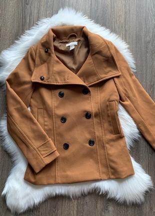 Куртка пальто h&m xxs, xs, s, m жакет курточка демисезонная пальто полупальто пиджак2 фото