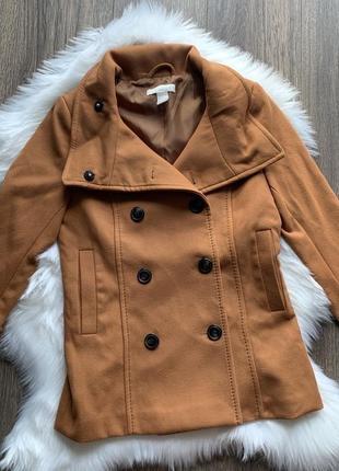 Куртка пальто h&m xxs, xs, s, m жакет курточка демисезонная пальто полупальто пиджак3 фото