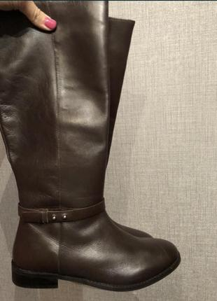 Сапоги/ чоботи reserved. натуральная кожа