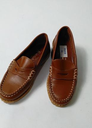 Туфли из натуральной кожи для мальчика cristian 31 размер