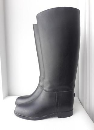 Резиновые сапоги для конного спорта / верховой езды toggi оригинальные чоботи резинові