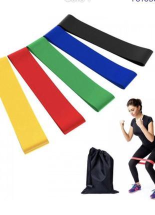 Фитнесс резинки фітнес резинки для фитнеса эспандер набор
