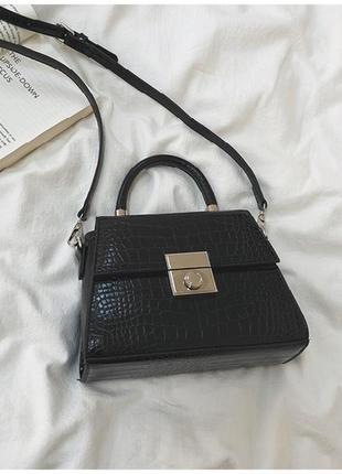 Новая черная сумка, клатч черного цвета