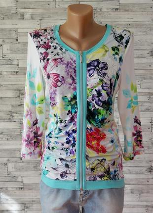 Блуза на молнии в стиле waggon и sassofono размер s-m