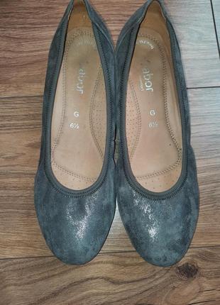 Кожаная обувь gabor 6.5