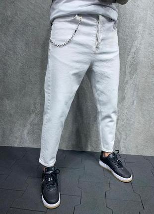 Мужские трендовые джинсы мом мужская одежда осень весна