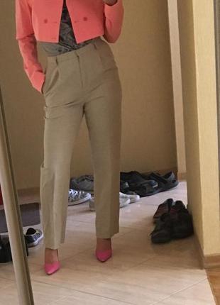 Яркий розовый неоновый итальянский пиджак оригинал jil sander