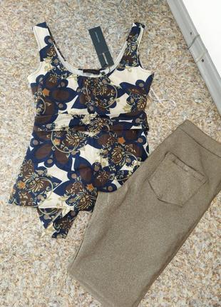 Блуза, летняя хлопковая кофта р.xs-s