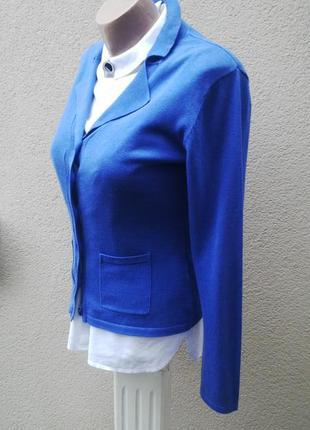 Тонкий,трикотажный кардиган,кофта(джемпер)жакет,пиджак,на застежке,хлопок 100%,2