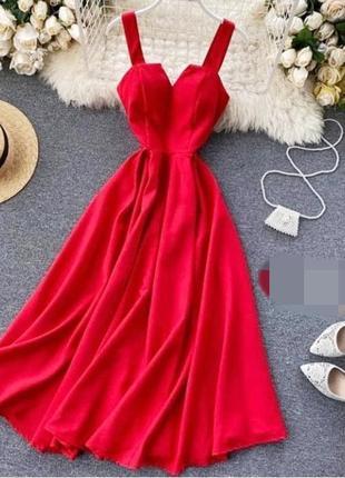 Шикарне плаття міді на шнуровці ззаді 💗 5 кольорів 🌈 якість 👍є реальні фото ,чудові відгуки 🤗