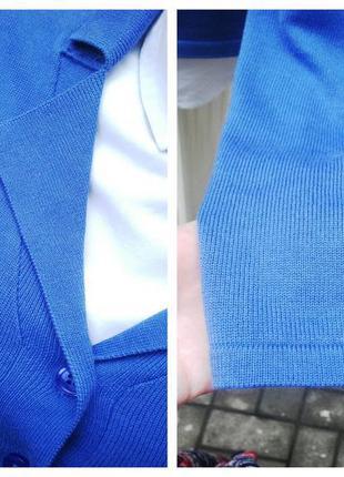 Тонкий,трикотажный кардиган,кофта(джемпер)жакет,пиджак,на застежке,хлопок 100%,4