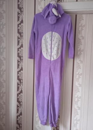 Единорог кигуруми пижама