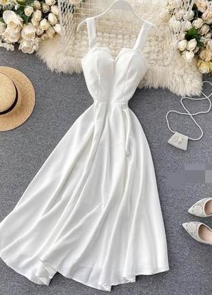 Шикарне плаття на шнуровці ззаді 💗 5 кольорів 🌈 якість 👍1 фото