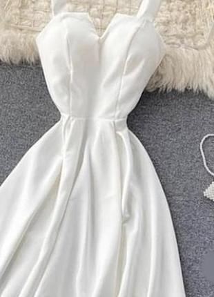 Шикарне плаття на шнуровці ззаді 💗 5 кольорів 🌈 якість 👍2 фото