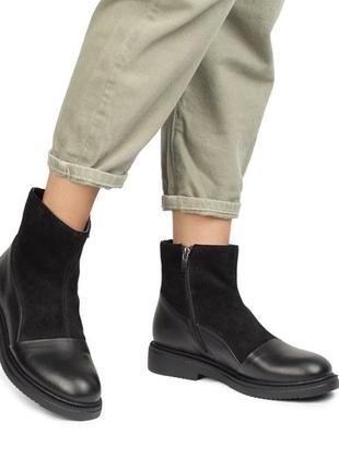 Нові шкіряні ботінки/ботинки, 40
