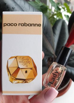 Духи масляные paco rabanne lady million