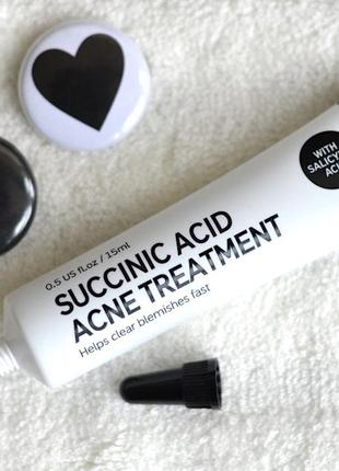 The inkey list. succinic acid blemish treatment. локальное средство от прыщей 15 мл