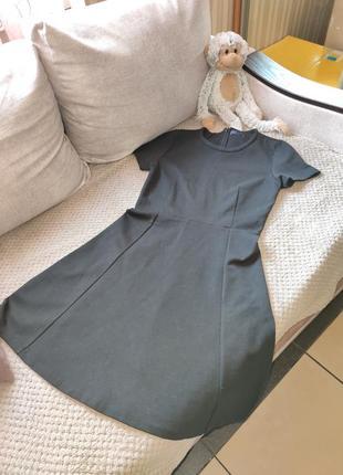 Черное платье бейби-долл