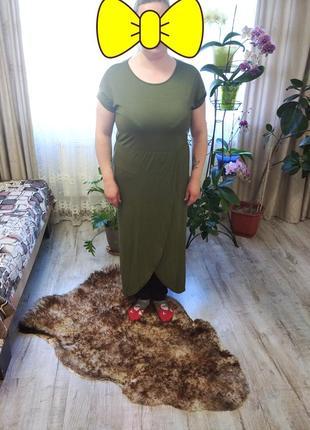Стильна сукня- футболка