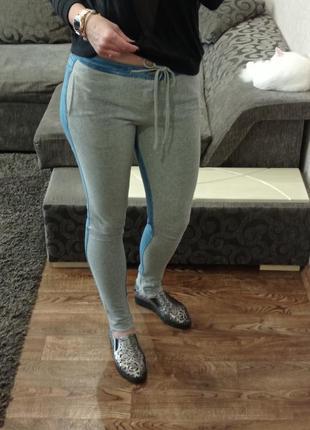 Спортивные штаны джинсы багги zara p36-38/s-m