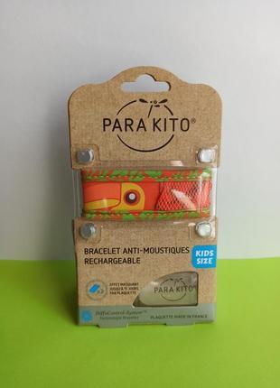 Браслет от комаров для детей 3+, репеллент parakito