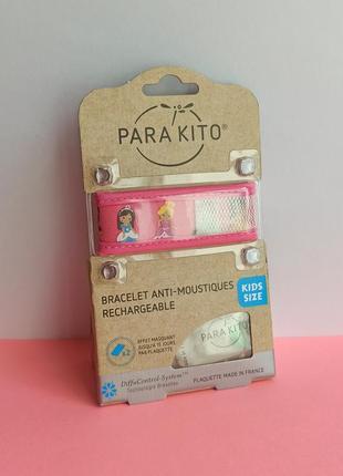 Браслет от комаров для детей от 3 лет parakito, репеллент