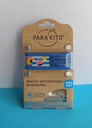 От комаров браслет parakito франция, репеллент для детей от 3 лет