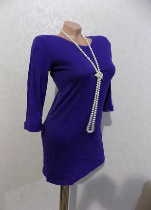 Платье-туника с пуговицами на спине фирменное topshop размер 42