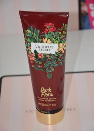 Victorias secret парфюмированный лосьон для рук victoria виктория сикрет dark flora