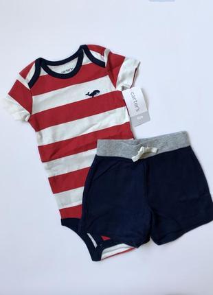 Набор для малыша, боди и шорты carter's
